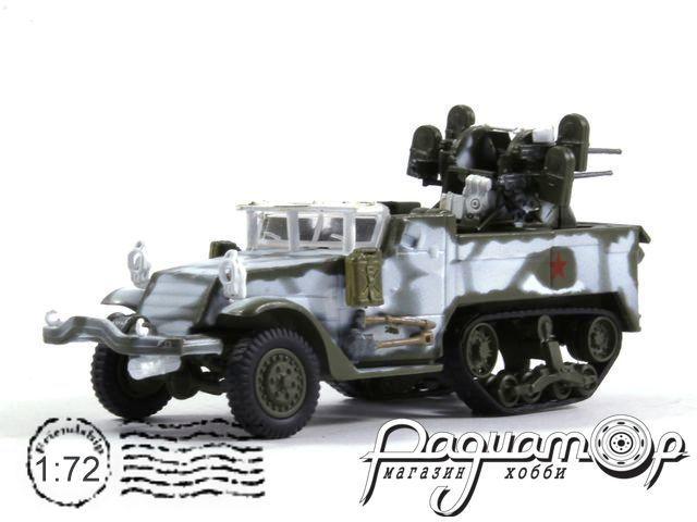Русские танки №94, M17 MGMC (1945) (I)