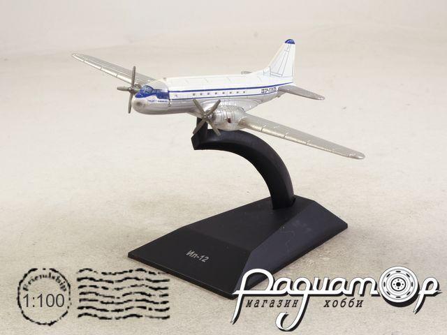 Легендарные самолеты №83, Ил-12 (1945) 1:100 (I)