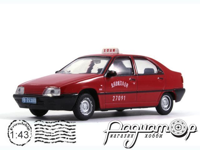 Citroen Fukang 988 Taxi Beijing (2000) TSG25
