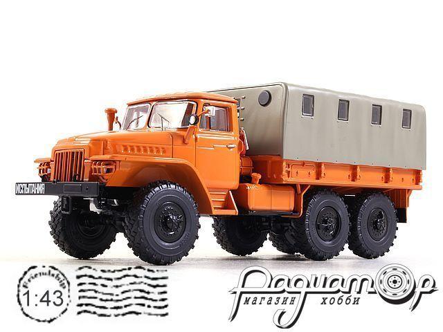 УРАЛ-375Д бортовой с тентом (1961) SSM1104