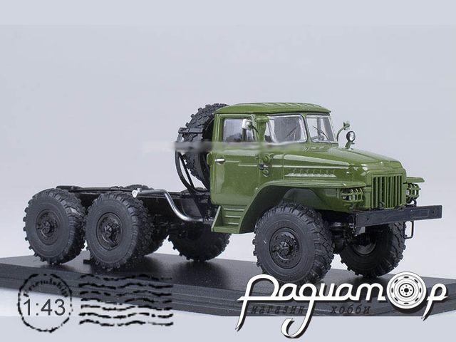 УРАЛ-375Д шасси (1961) SSM9006
