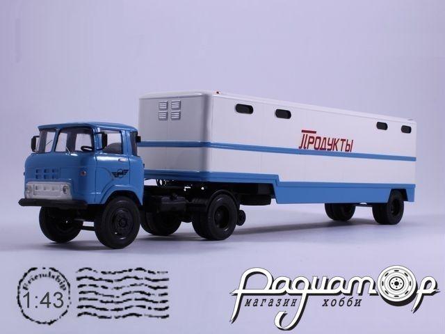 КАЗ-608 «Колхида» с полуприцепом ОдаАЗ-794 (1972) 8-2-19-2P