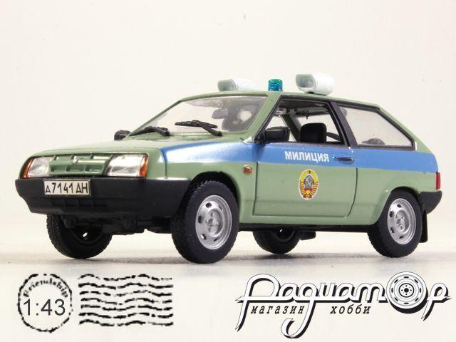 ВАЗ-2108 Милиция СССР (1986) 1700