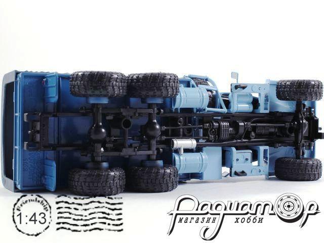 КрАЗ-255Б1 бортовой с тентом (1967) H288-B