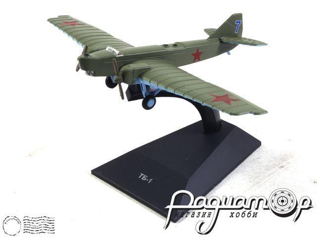 Легендарные самолеты №85, ТБ-1 (1929) 1:100