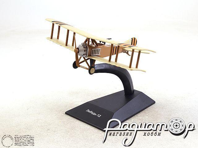 Легендарные самолеты №86, Лебедь-12 (1916) 1:100