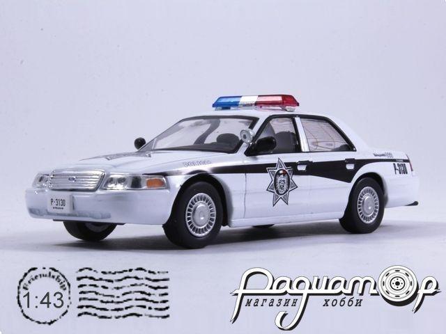 Полицейские машины мира №35, Ford Crown Victoria Полиция Мексики (1992)