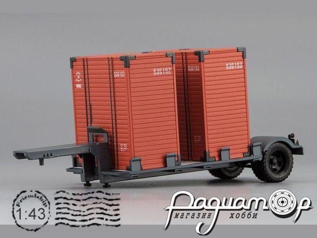 Прицеп Т-213 с контейнерами (1956) 621301