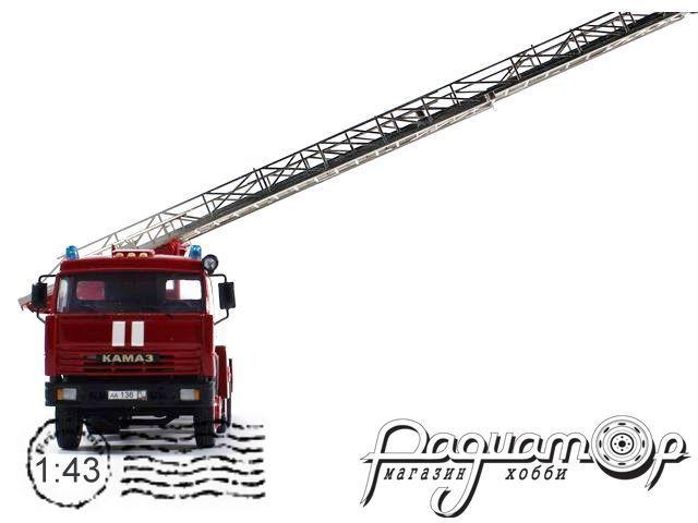 КамАЗ-53213 АЛ-30 пожарная автолестница (ПМ-512) (2008)