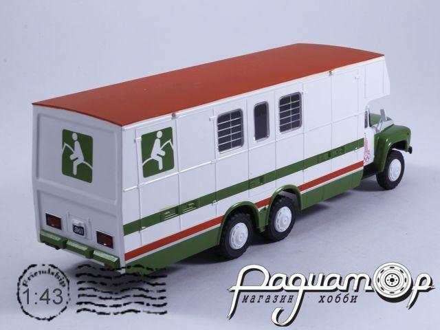 Автомобиль на службе №78, КАвЗ-5982 (ЗиЛ-133Г1) перевозка лошадей (1978)