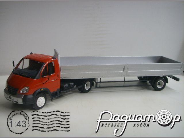 ГАЗ-3310 «Валдай» тягач с прицепом (11,5м) (2003) NIK042