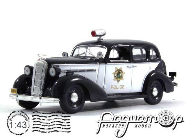 Полицейские машины мира №36, Buick Special Полиция Калифорнии, США (1936)