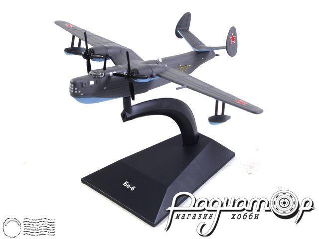 Легендарные самолеты №90, Бе-6 (1949) 1:100