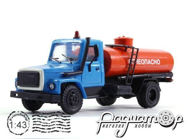 ГАЗ-3309 бочка «Огнеопасно» (1994) 4354-B