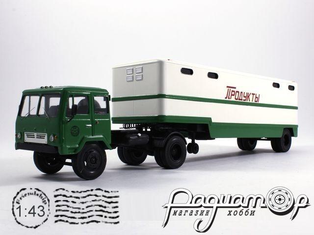 КАЗ-608 с полуприцепом ОдАЗ-794 (1972) 8-2-19-2