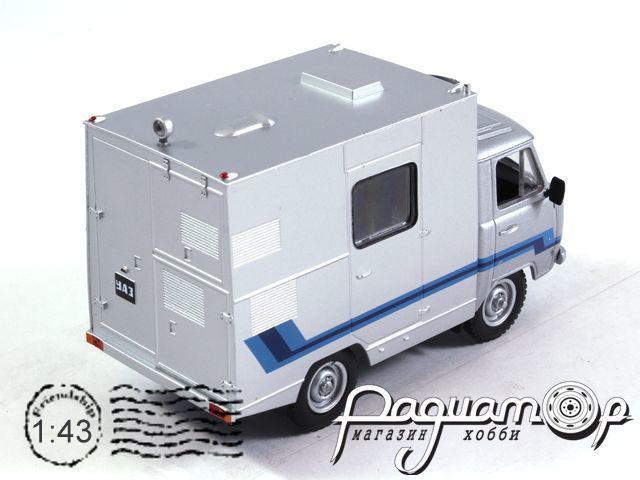 Автомобиль на службе №63, УАЗ-3303 ПРТС Телевидение (1985)