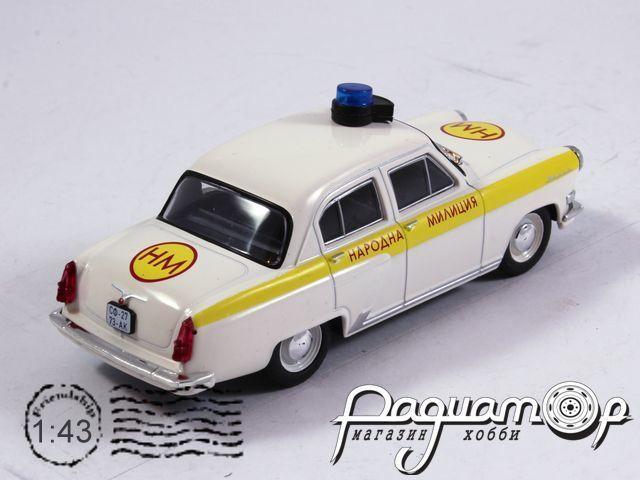 Полицейские машины мира №37, ГАЗ-21