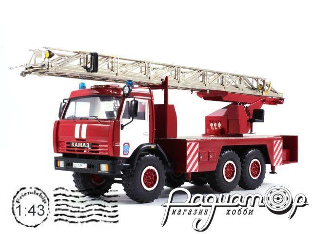 КамАЗ АЛ-30 пожарная автолестница (2008) 485-36