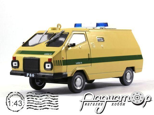 Автомобиль на службе №64, РАФ-ЛАББЕ инкассация СССР (1987) (I)