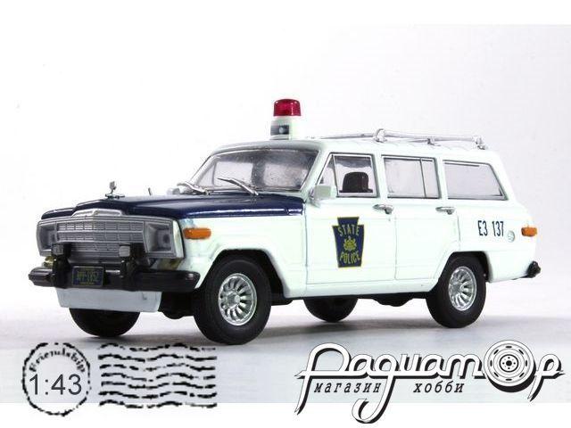 Полицейские машины мира №39, Jeep Wagoneer Полиция штата Пенсильвания (1963)