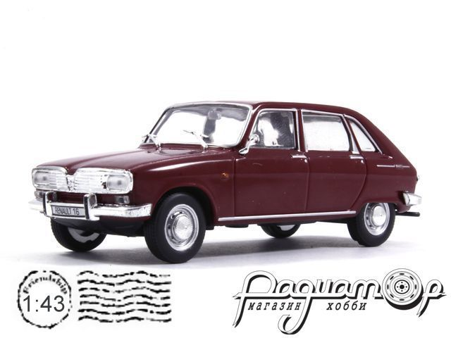 Masini de Legenda №78, Renault 16 (1965) (ML)