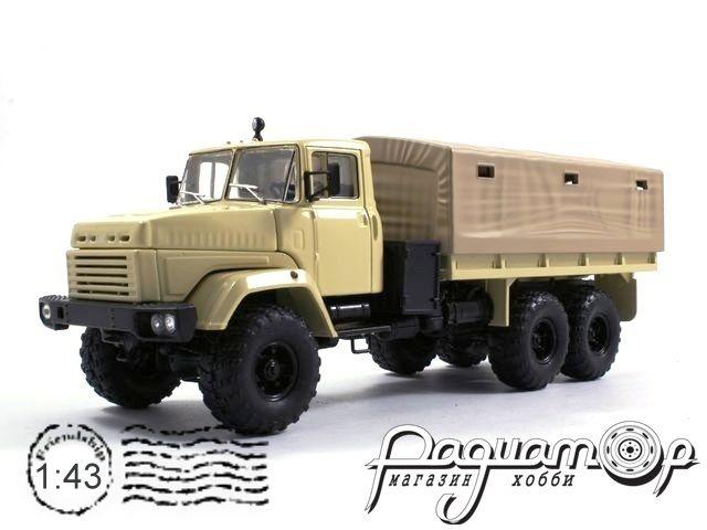 КрАЗ-260 бортовой с тентом (1989) H291-B