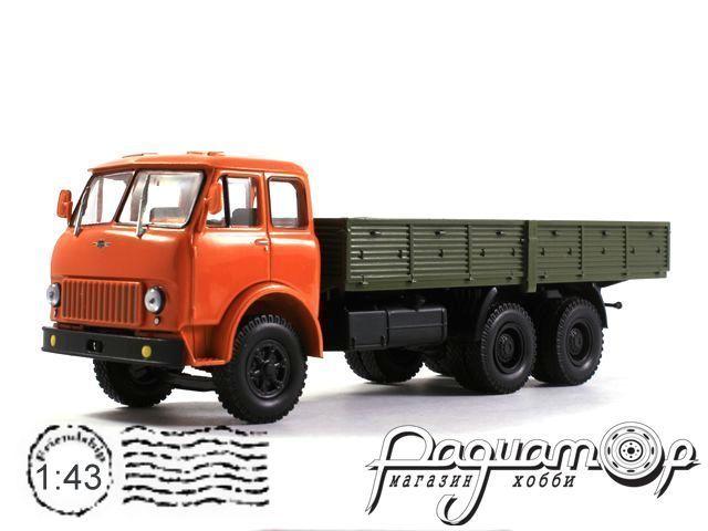 МАЗ-514 бортовой (1966) H298-R