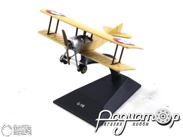 Легендарные самолеты №96, С-16 (1914) 1:110 (I)