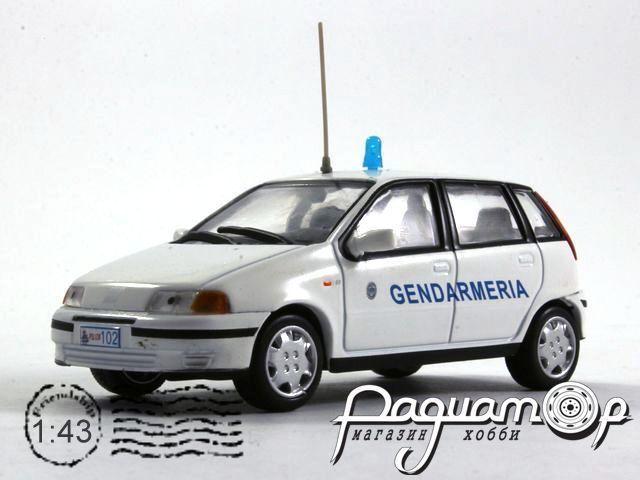 Полицейские машины мира №40, Fiat Punto SX Жандармерия Сан-Марино (1999) (L)