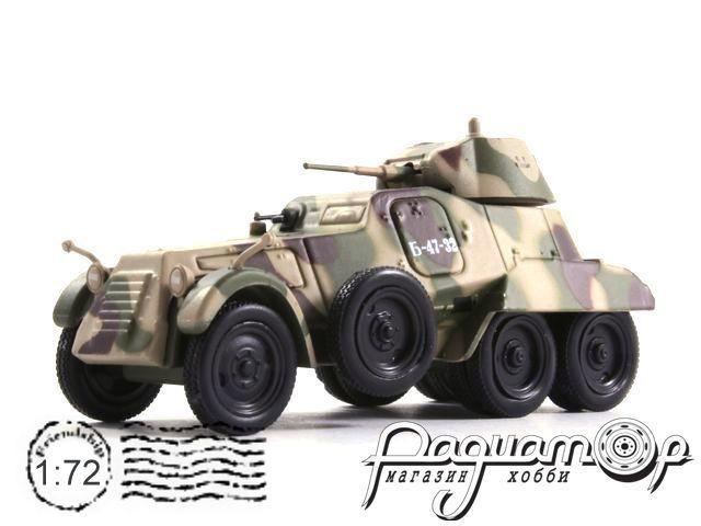 Русские танки №101, БА-11 (1939)