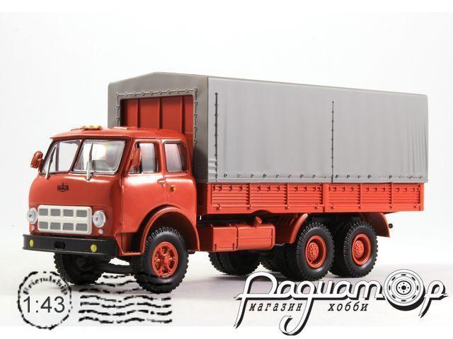 МАЗ-514 бортовой c тентом (1974) H200