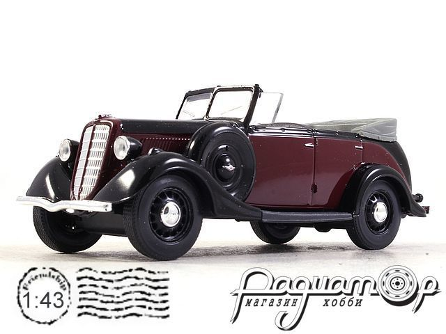 ГАЗ-М1 фаэтон (1937) H157-2