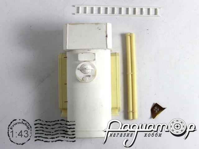 Кит Автоцистерна пожарная для ЗИЛ-131 (прогрунтованный) NK001K