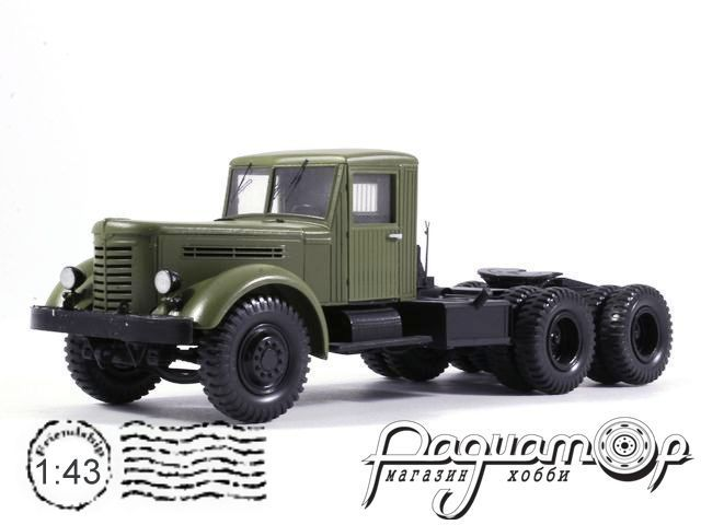 ЯАЗ-210Д седельный тягач с лебедкой (1952) NSR43001