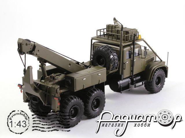 КрАЗ-255 эвакуатор ГДР (1970) 1-550M