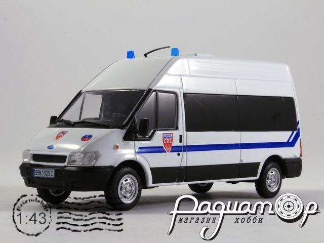 Полицейские машины мира №41, Ford Transit CRS Полиция Франции (2010)