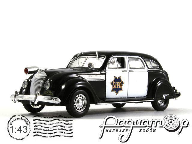 Полицейские машины мира №42, Chrysler Airflow Полиция Сан-Франциско (1936)