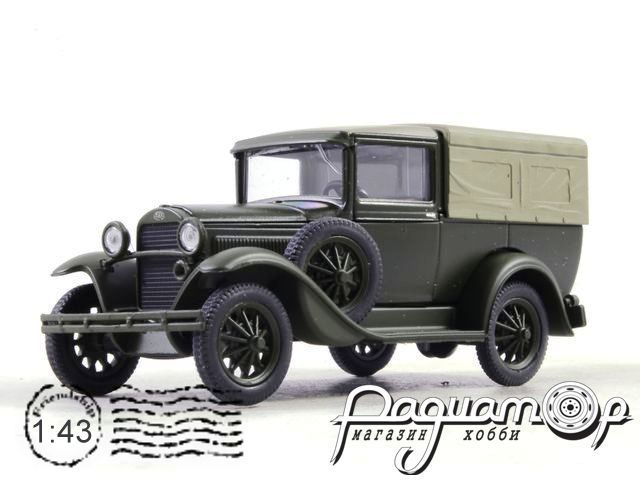 ГАЗ-4 с тентом (1933) H554-2