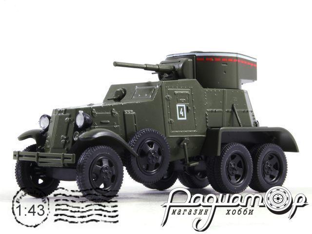 Автомобиль на службе №69, БА-6 бронеавтомобиль (1936)