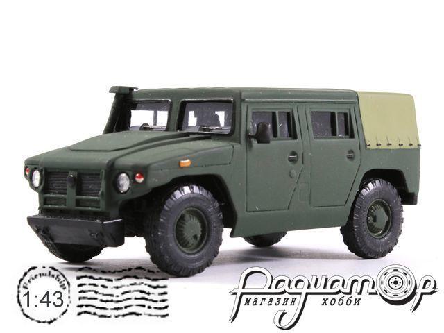 ГАЗ-2330 «Тигр» с тентом (2005) 14-17M