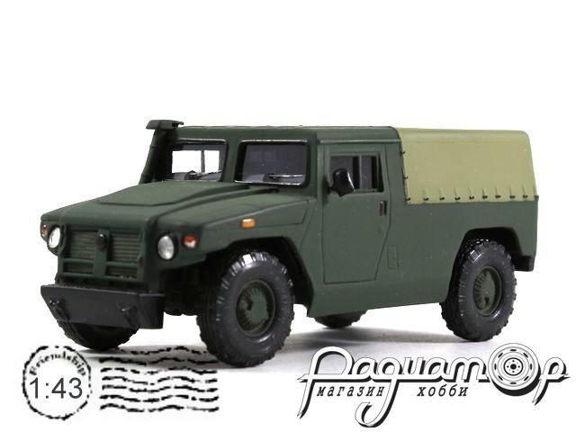 ГАЗ-2330 «Тигр» с тентом (2005) 14-18M