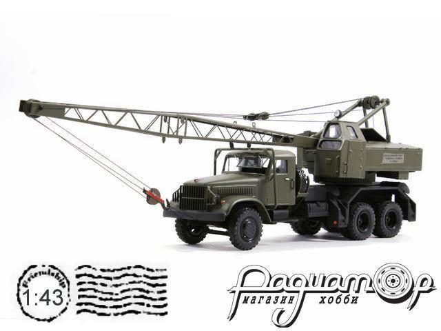 Автокран К-104 (для установки на КрАЗ/ЯАЗ) лимитированная серия