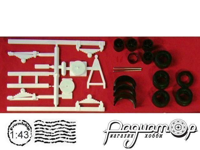 Сборная модель Прицеп СЗАП-8357 (шасси) MM501