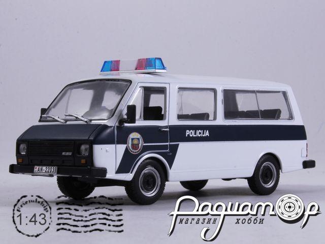 Полицейские машины мира №44, РАФ-22038 Полиция Латвии (1998)