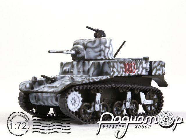 Русские танки №105, M3 «Стюарт» (1941)