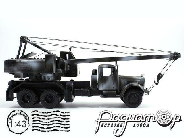 Автокран К-121 (для установки на КрАЗ/ЯАЗ) лимитированная серия