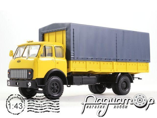 МАЗ-53352 бортовой с тентом (1977) H297