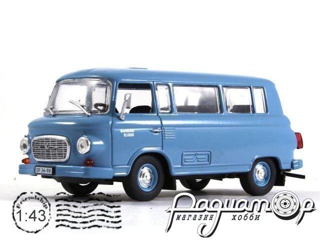 Автолегенды СССР и Соцстран №158, Barkas B1000 (1963)
