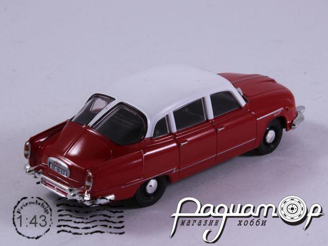Автолегенды СССР и Соцстран №145, Tatra 603-1 (1960)