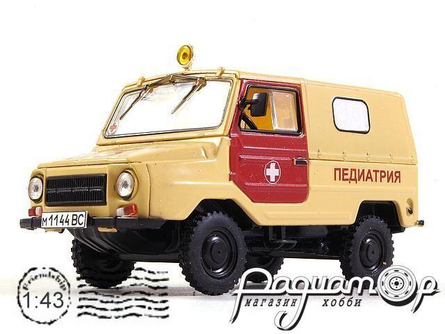 ЛУАЗ-969М Педиатрия (1979) 1082